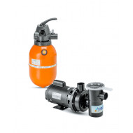 Kit Filtro e bomba para piscinas - Nautilus - F280p e NBF0-1/4CV
