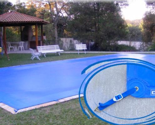 capa de preteção para piscina
