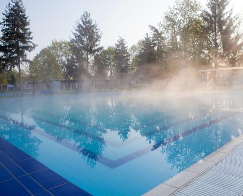 vantagens de uma piscina aquecida