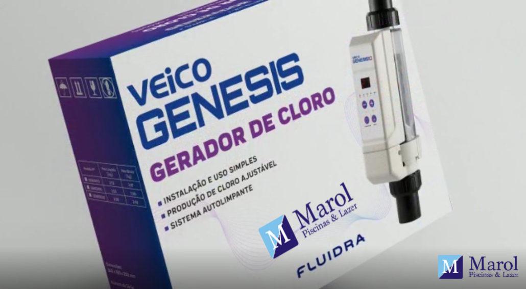 Gerador de cloro genesis veico