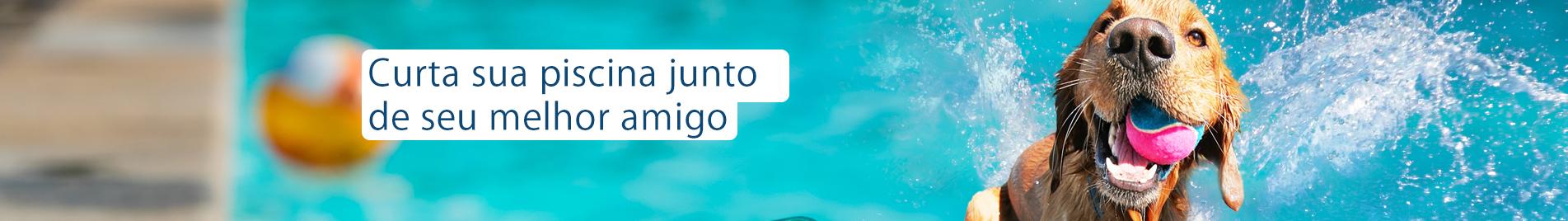 Produtos de animais para piscina