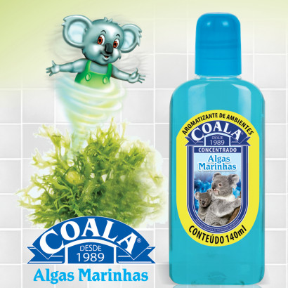 Essência Limpadora – Coala – Aroma Algas Marinhas 120ml