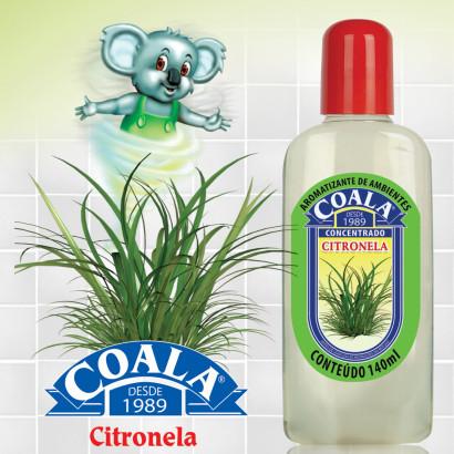 Essência Limpadora – Coala – Aroma Citronela 120ml