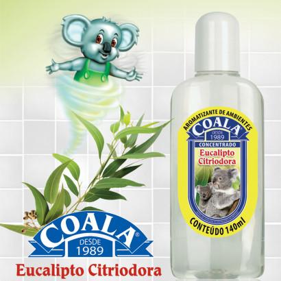 Essência Limpadora – Coala – Aroma Eucalipto Citriodora 120ml