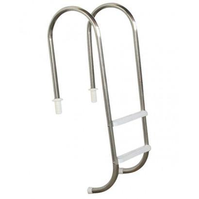 Escada para piscinas - Sodramar - Marinheiro em Aço Inox 2 Degraus Anatômicos em ABS