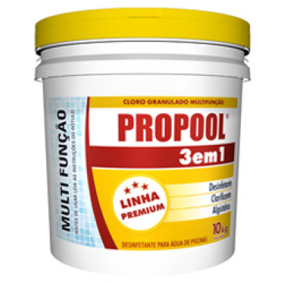 Cloro Granulado 3 em 1 - 3kg - Propool