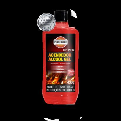 Acendedor de Churrasqueiras Álcool Gel Prime Grill