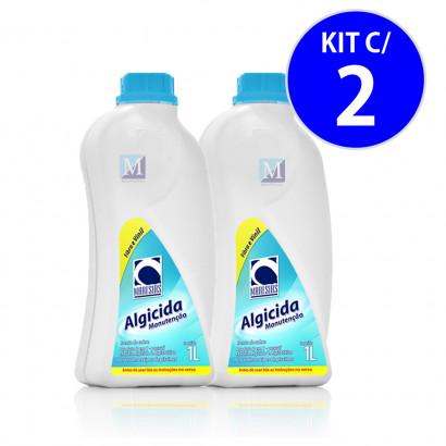 Algicida Manutenção 1L Maresias - Kit c/ 2