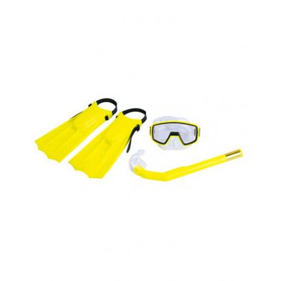 Kit Pacific Mergulho Infantil - Nautika - Amarelo