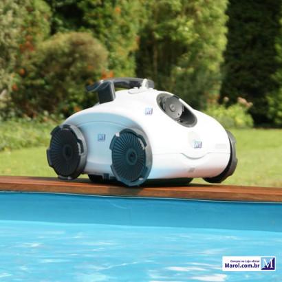 Aspira Max 5201 Nautilus robô de manutenção para piscinas