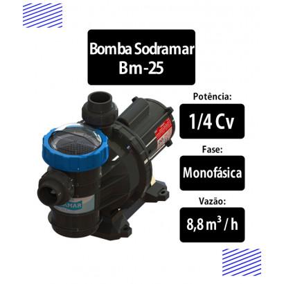 Bomba para piscinas 1/4 CV (BM-25)