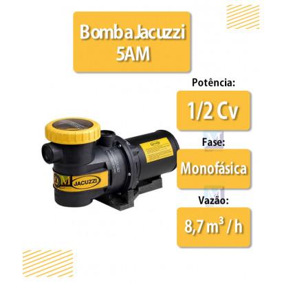 Bomba para Piscinas 1/2 CV Série 5AM Monofásico - Jacuzzi