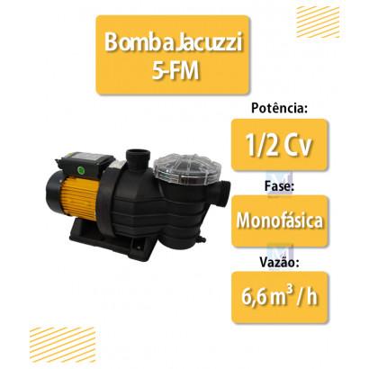 Bomba para Piscina 1/2 Cv 5F-m Fit 220V Jacuzzi