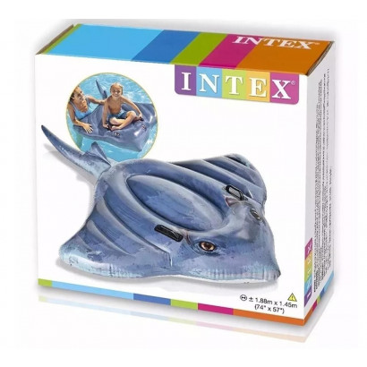Bote Inflável Arraia Intex