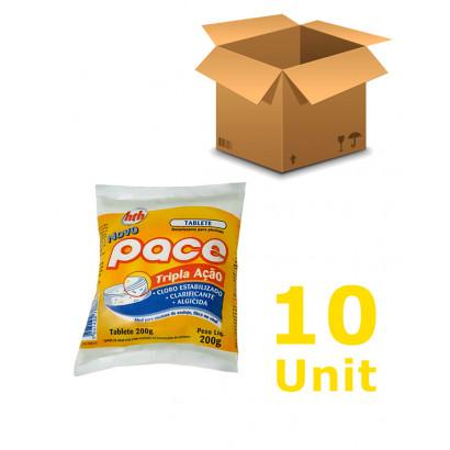 10 unidades Cloro Tablete - HTH PACE - Multiação