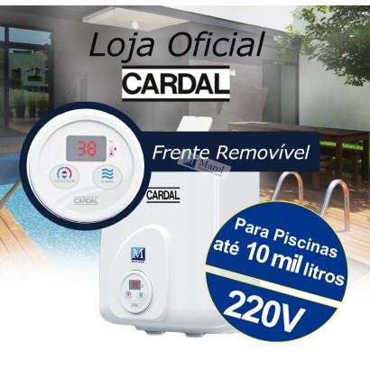 Aquecedor para Piscina Digital Cardal Painel Removível até 10.000 Litros 220V