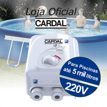 Aquecedor para piscinas infláveis até 5000 L -  220V - Cardal