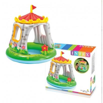 Piscina Infantil Castelo com Cobretura Intex