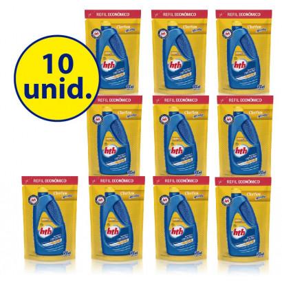 10 unid. Clarificante Clarifica Maxfloc® - refil 900 ml - hth