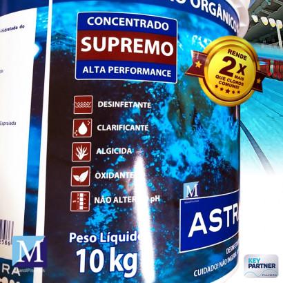 Cloro Orgânico para Piscina Alta Performance Supremo 10kg Astralpool