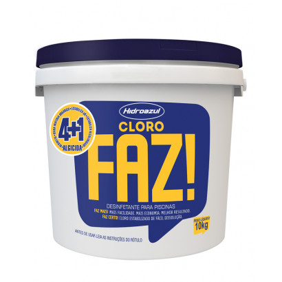 Cloro granulado hidroazul FAZ - 10kg