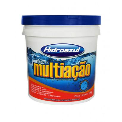 Cloro granulado hidroazul Multiação - 10kg
