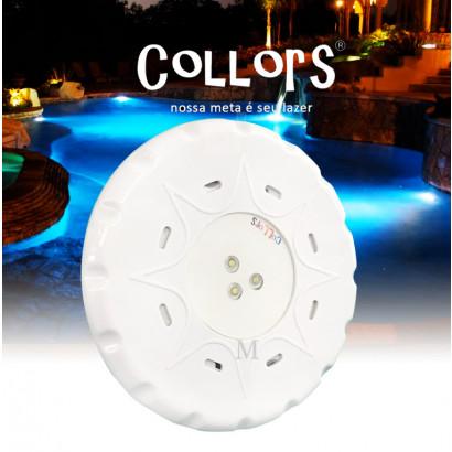 Collors Blue Solução 3 POWER LED 9 W EXTERNO 14 CM LBS-01