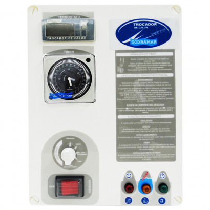Quadro de Comando Smart para Aquecedor - Sodramar - Trocador de Calor