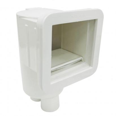 Skimmer Compact Branco para Vinil, fibra ou Alvenaria - Sodramar