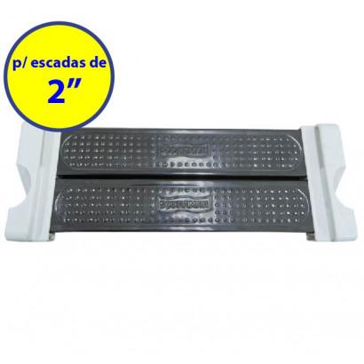 "Degrau Inox Duplo escada confort 2"" completo Sodramar"