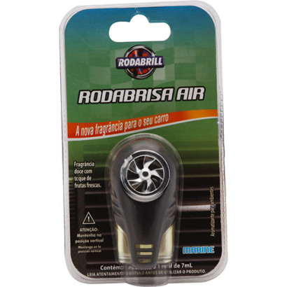 Difusor Aromatizante Automotivo Air Black RodaBrill