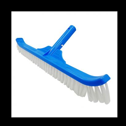 Escova de Nylon curva 45 cm para Piscinas de Fibra Alvenaria - Nautilus