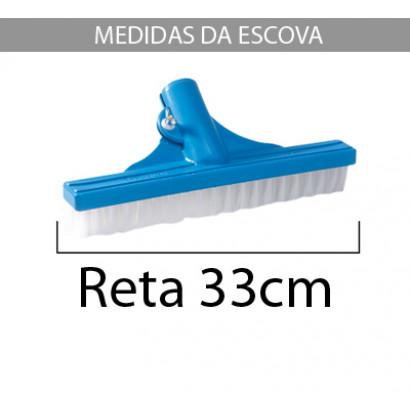 escova reta sodramar 33cm / medida