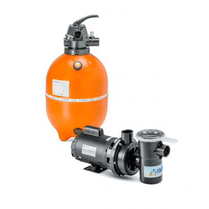 Kit Filtro e bomba para piscinas - Nautilus - F450p e NBF2-1/2CV