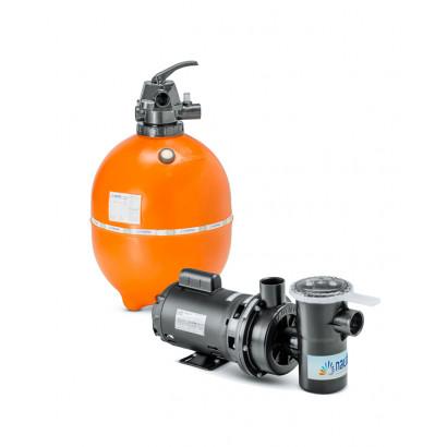 Kit Filtro e bomba para piscinas - Nautilus - F550p e NBF3-3/4CV