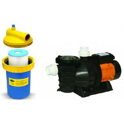 Conjunto filtro cartucho cwf200 e bomba fit 1/2 CV Jacuzzi