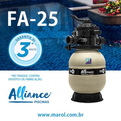 Filtro para piscinas até 20 mil litros FA-25 Alliance