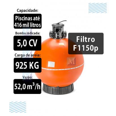 Filtro F1150P para Piscinas até 416 Mil Litros Nautilus