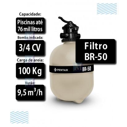 Filtro para Piscinas até 76 mil Litros BR 50 - Sibrape
