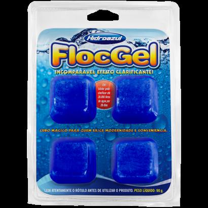 FlocGel - Hidroazul - Clarificante com 4 unidades