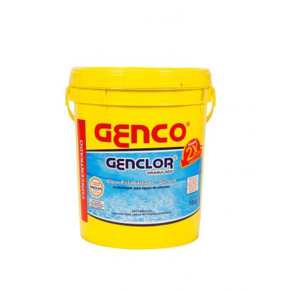 Cloro granulado Genco estabilizado Genclor- 10kg