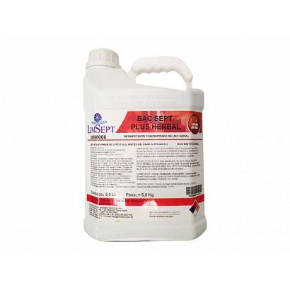Desinfetante Herbal 5L - Bacsept