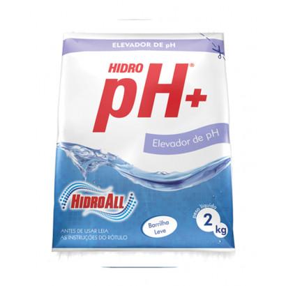 Elevador de PH granulado - Hidroall -  Hidro ph+ 2kg
