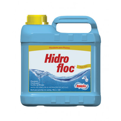Clarificante hidrofloc tripa ação 5 Litro Hidroall