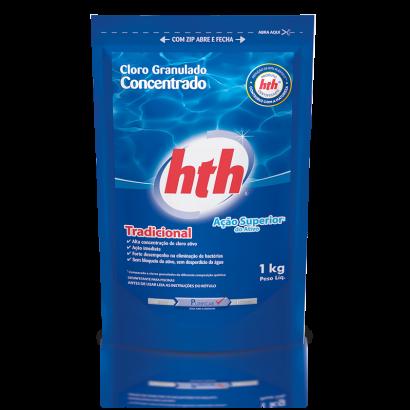 Refil Cloro Granulado concentrado 1 kg HTH