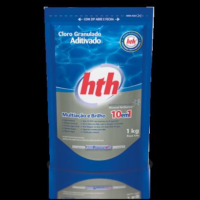 Refil Cloro Granulado 10 em 1 Aditivado 1 kg HTH