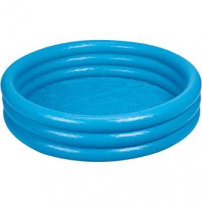 Piscina Inflável 3 Anéis - Intex - Azul