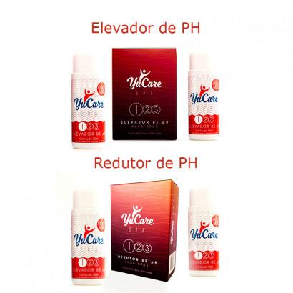 Kit Redutor de PH Elevador de ph Yucare