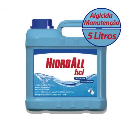 Algicida Manutenção HCL 5 Litros Hidroall