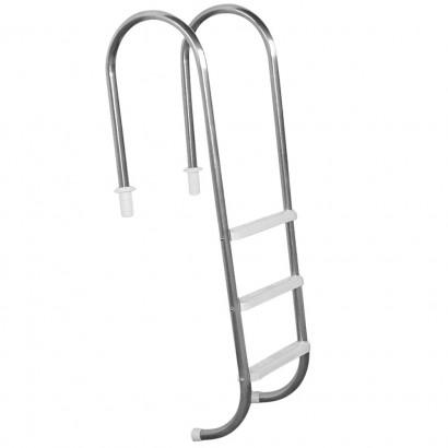 Escada para piscinas Marinheiro - Sodramar - 3 Degraus Anatômicos em ABS
